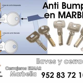Cerrajería Anti Bumping en Marbella