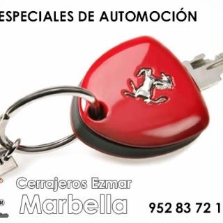 Copia de llaves de coche especiales en Marbella