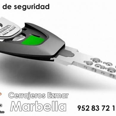 Copia de llaves de seguridad en Marbella con cerrajeros Ezmar